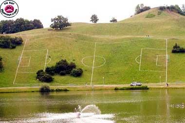 Le stade Translavonien parfaitement aux normes de la Deuxième Division.